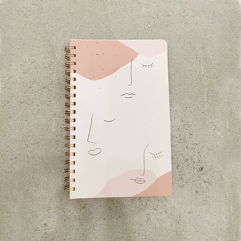 Abstract Face Notebook