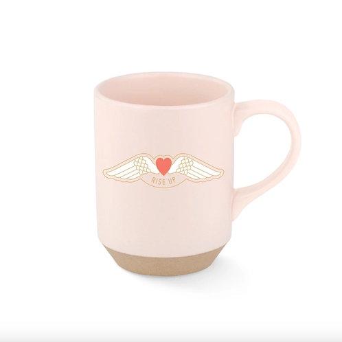 Rise Up Stoneware Mug