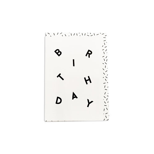 Birthday Scattered Card