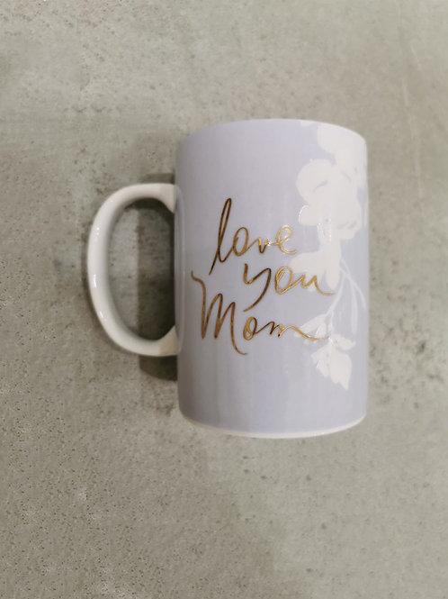 Love You Mom - Kansas Ceramic Mug