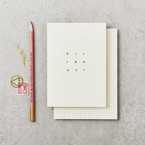 Birthday Cube HP Card-Blank Inside