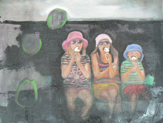 My paintings are fed by my experiences but are concerned with problems that are outside my experienc
