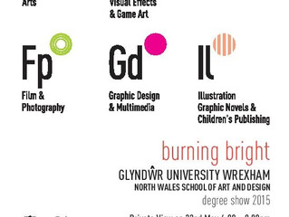 Students degree show