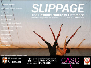 SLIPPAGE The Unstable Nature of Difference, Contemporary Art Space Chester, 9-27 March 2015