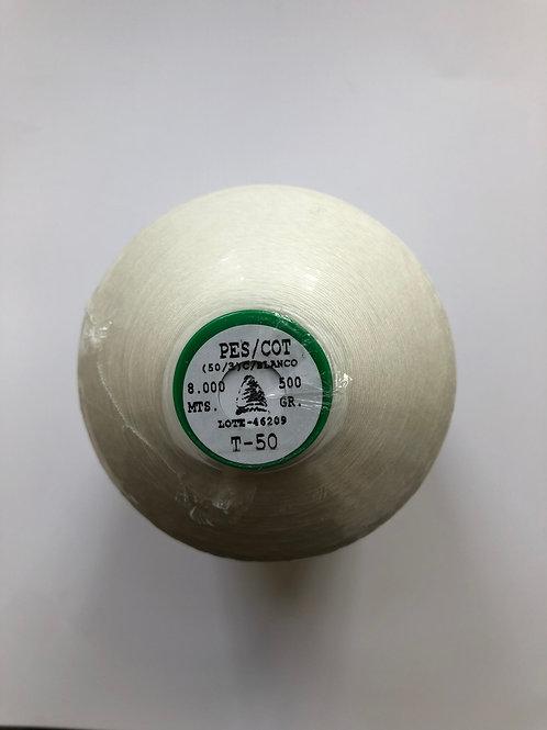 T50 White thread