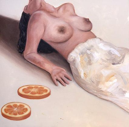 Orange Embrace (Sticker)