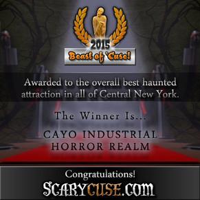 The 2015 Scarycuse OSCARE Awards Announcements