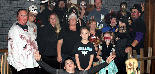 The Phelps Haunted House Family