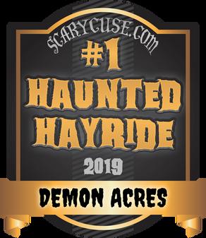 2019 Scarycuse Haunted Attraction Awards