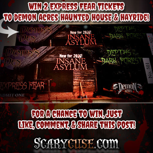 Win FREE Haunted Attraction Tickets! | Syracuse Haunted