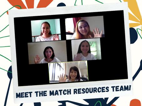 Meet the Match Resources Team!
