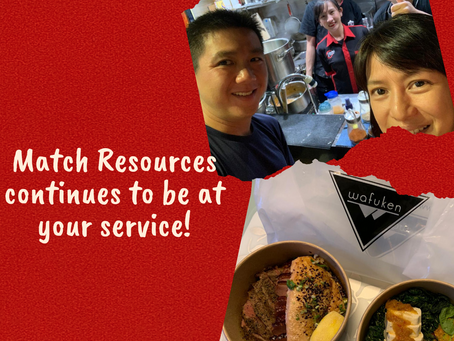 Match Resources At Your Service!