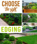 How to choose the right edging for your landscape