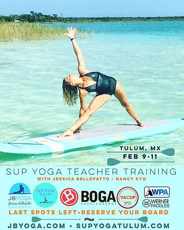 Hola Future SUP Yoga Teachers! _jessicab