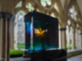 279 Refections at Salisbury Cathedral -