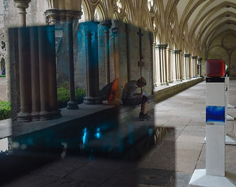 280 Refections at Salisbury Cathedral -