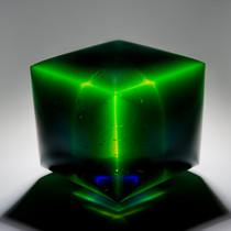 Expanding Cube Blue 2016