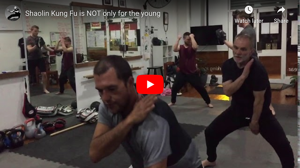 Click to watch video of Allan and Chris woking on the their level 1 Shaolin Kung Fu form.