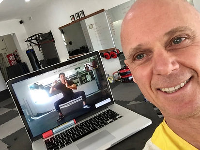 Online training with Shifu Darrin, martial arts personal training