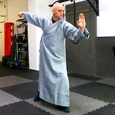 Shifu Darrin teaching Tai Chi