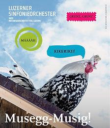 AUSVERKAUFT - Musegg-Musig!