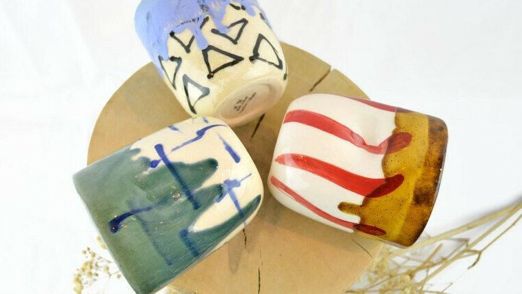 Keramik Becher groß