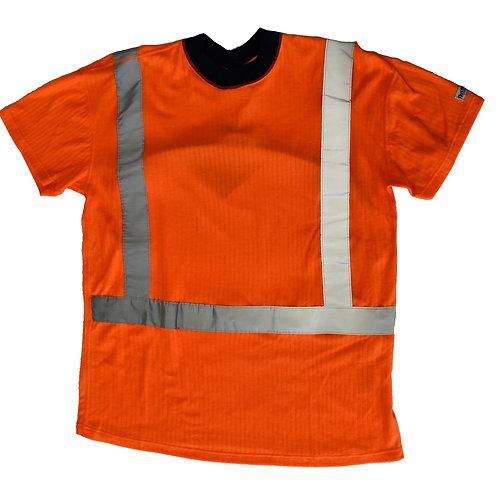T-Shirt (fluoreszierend)– Fristads