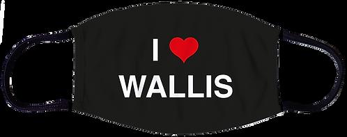 I Love Wallis Schutzmaske