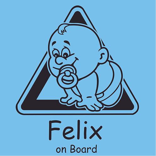 Plottkleber – Baby on Board 6