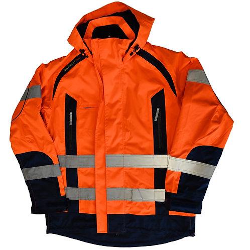 Allwetter-Warnschutz-Jacke (fluoreszierend) – Fristads