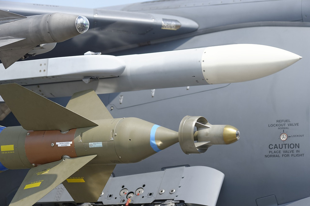 Loaded missiles