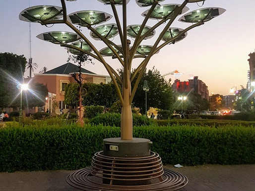 Solar Tree - A Promising Power Source
