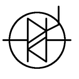 Symbol of TRIAC
