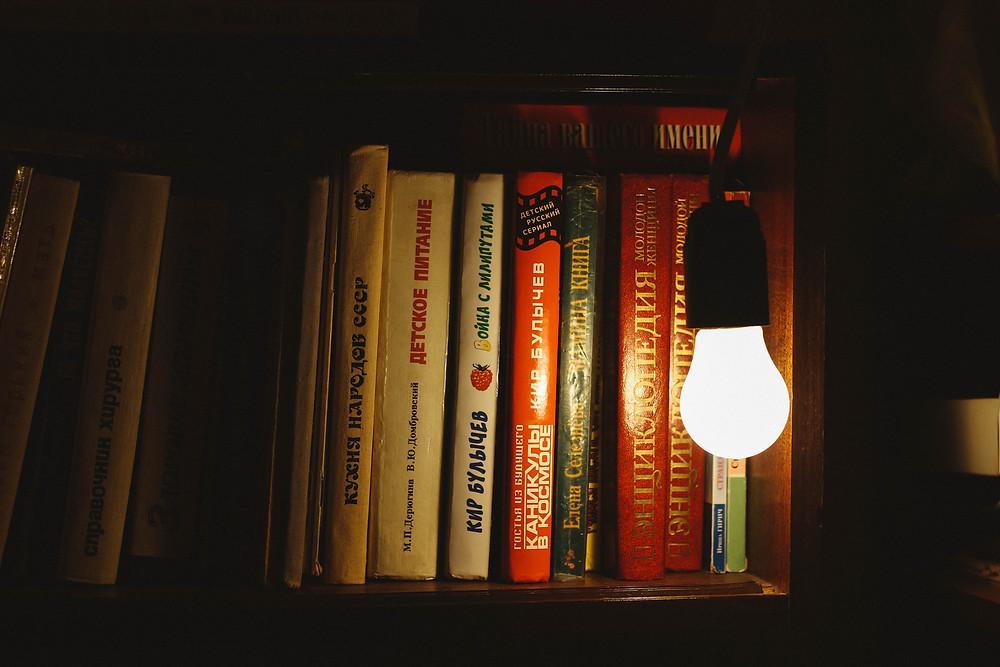A white LED