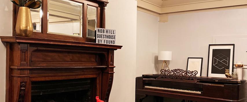 Nob Hill student hotel room