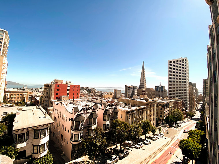 Nob Hill view