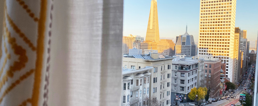 Nob Hill student hotel view