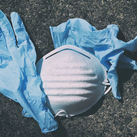 Masques et gants : une source supplémentaire de pollution