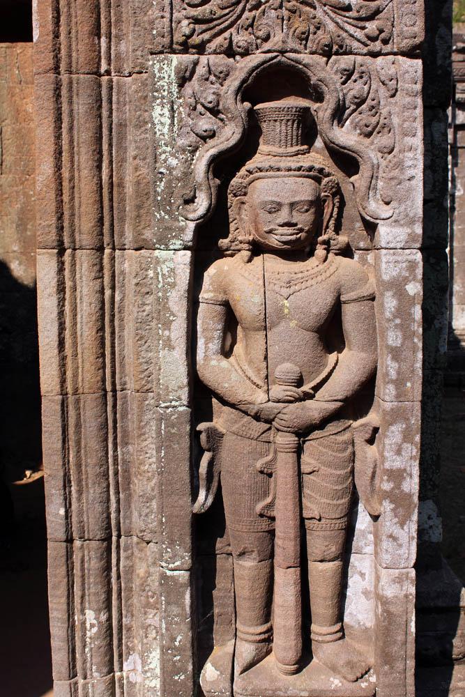 Tempelwächter im Wat Phou