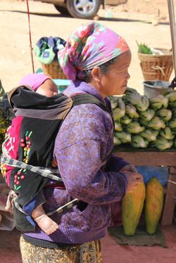 Laos Bergbewohnerin