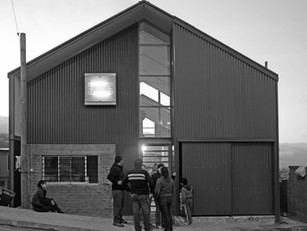 Inauguración de reconstrucción de sede jjvv nº15, Cerro las Cañas
