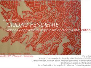 Segundo encuentro Ciudad Pendiente