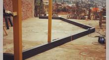 Avanza la reconstrucción de la sede de la JJVV Cº Las Cañas