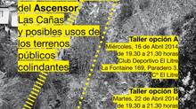 """Participación vecinal en el concurso de arquitectura """"Reconversión Sitio Ascensor Las Cañas"""""""