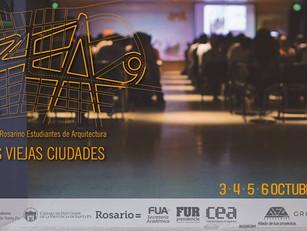 9no Congreso Rosarino Estudiantes de Arquitectura. NUEVAS VIEJAS CIUDADES.