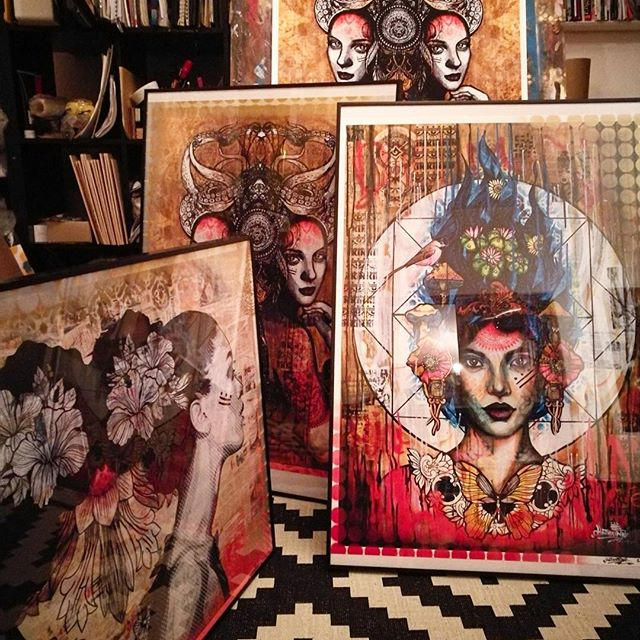 3 available prints, framed or unframed _