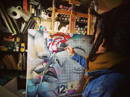 Winter work in the studio, new collectio