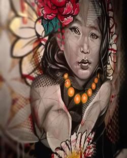 Street art for Mankind