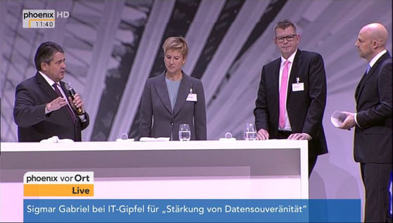 Podiumsdiskussion Nationaler IT-Gipfel