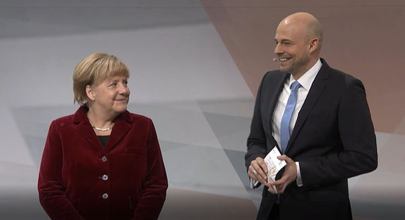 IT-Gipfel mit Dr. Angela Merkel